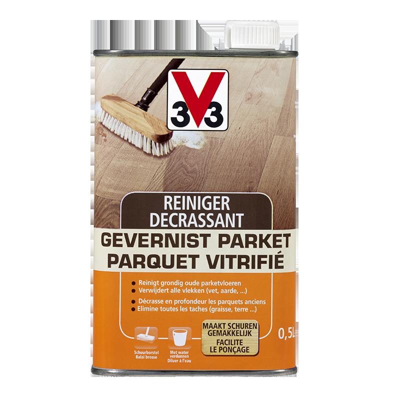 Reiniger gevernist parket / Décrassant parquet vitrifié 0,5L