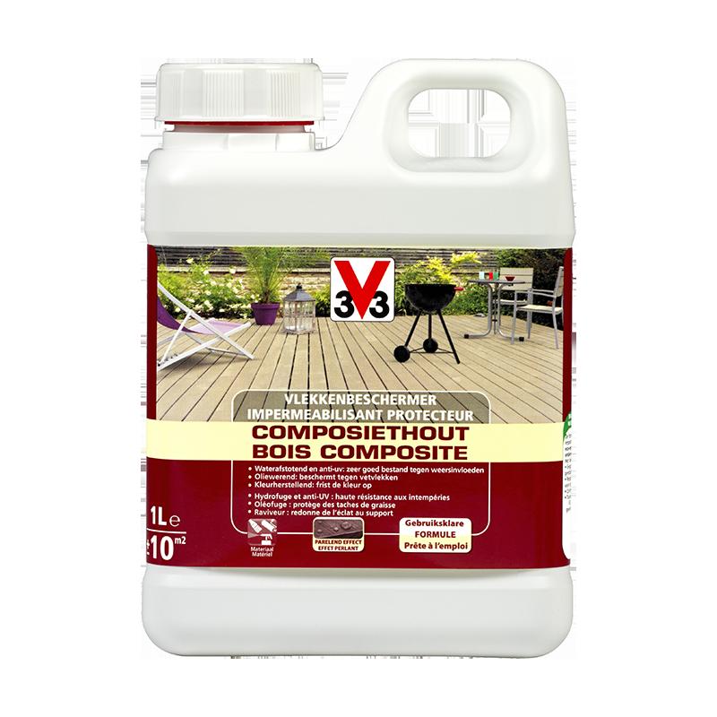 Vlekkenbeschermer composiethout / Imperméabilisant protecteur bois composite 1L