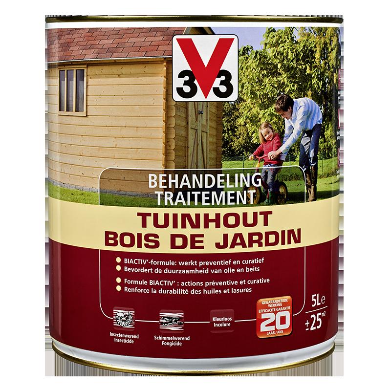 Traitement bois de jardin - Behandeling tuinhout (5L)