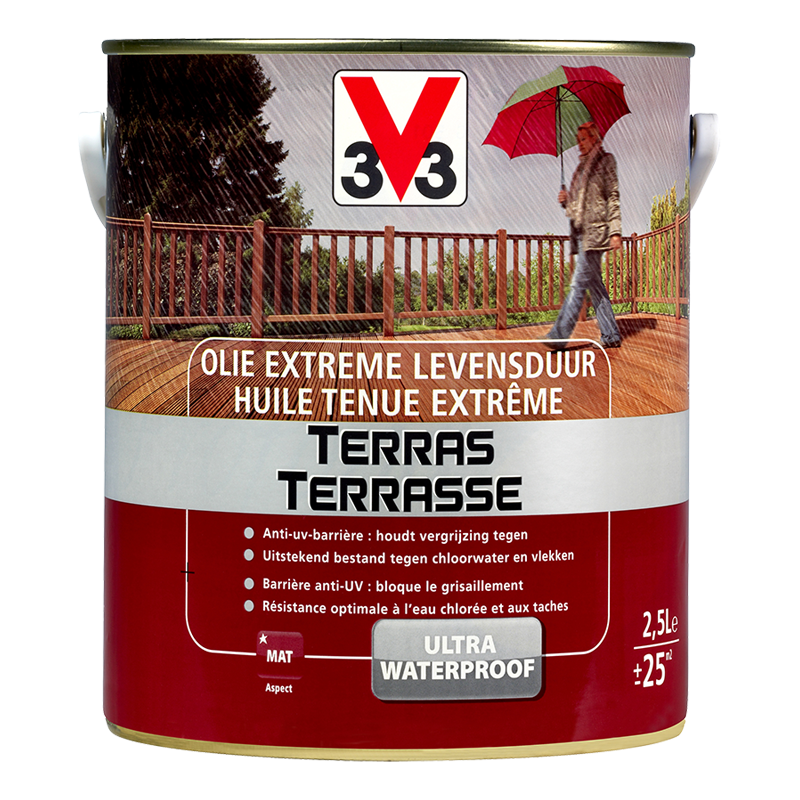 Générique Huile Tenue Extreme Terrasse 2,5L