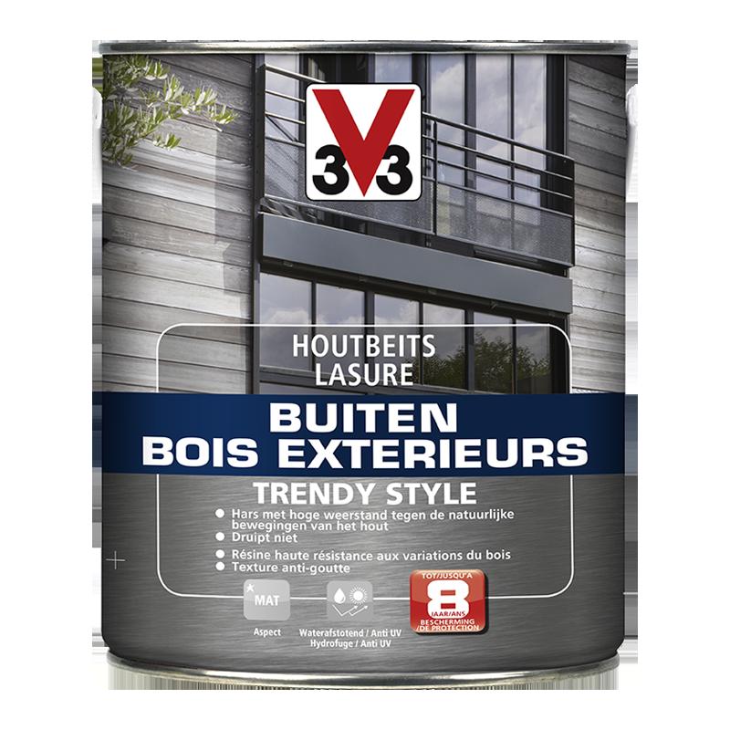 Générique Lasure Bois Extérieur Trendy Style - 2,5L