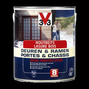 Générique Lasure Portes & Châssis high protection 2,5L